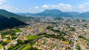 Cidade de Jaraguá do Sul - Santa Catarina